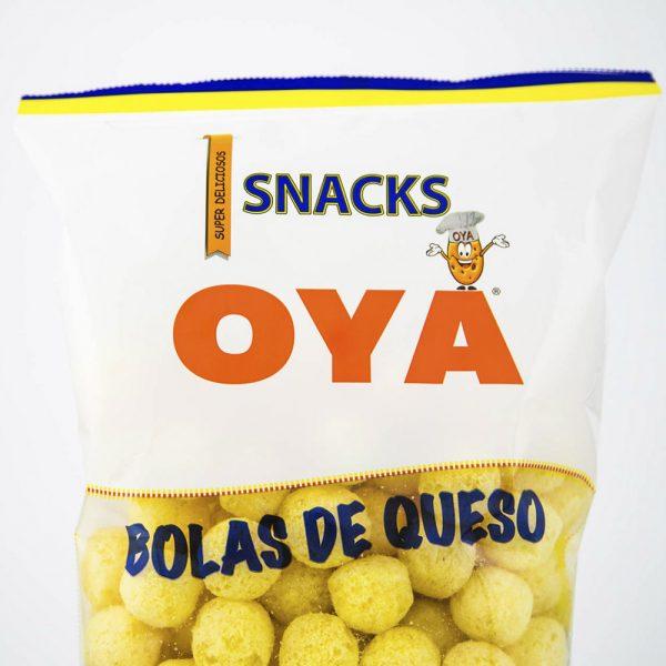 Snacks bolas de queso OYA