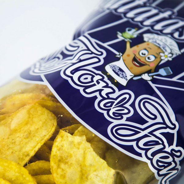Patatas Fritas La Flor de Jaén - Detalle Bolsa