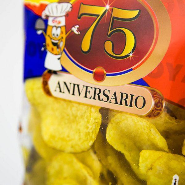 Bolsa Patatas Fritas OYA 75 Aniversario