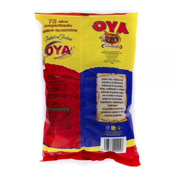 Trasera de Patatas Fritas OYA con Aceite de Oliva