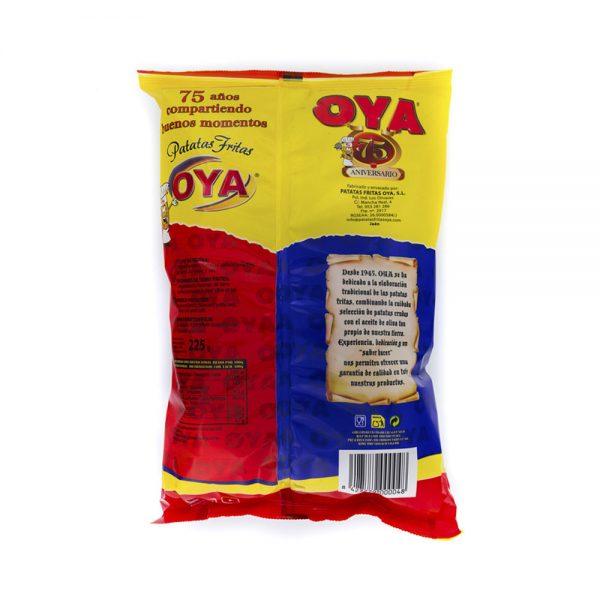 Trasera de Patatas Fritas OYA con Aceite de Oliva 450g