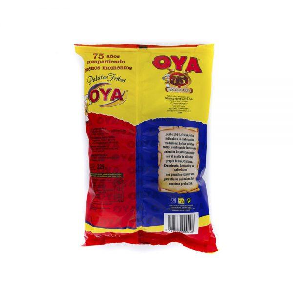 Trasera de Patatas Fritas OYA con Aceite de Oliva 225g