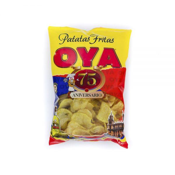 Bolsa de Patatas Fritas OYA con Aceite de Oliva 225g