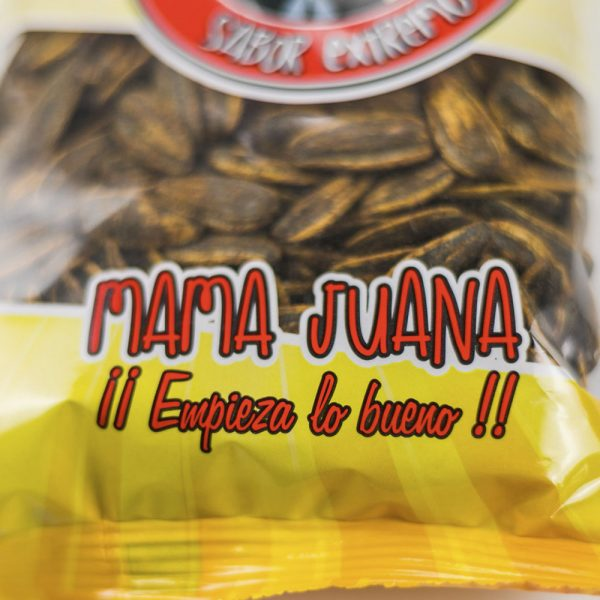 Frutos secos Pipas Barbacoa Mama Juana OYA