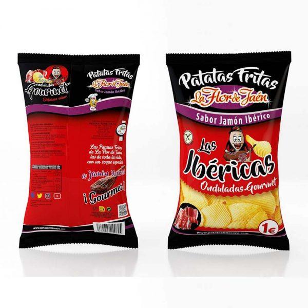 Bolsa Patatas Fritas Sabor Jamón Ibérico